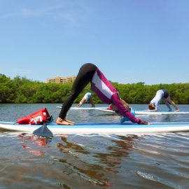 Paddle Board Yoga (10:30-11:30am)