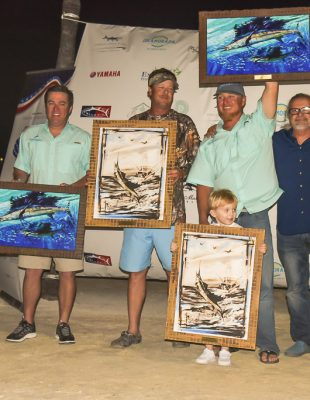 Team Indigenous: First Place, Outstanding Captain and Mate, Top Lady Angler and Grand Champion
