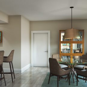 Bush Suite Rendering - Actual Finishes May Vary