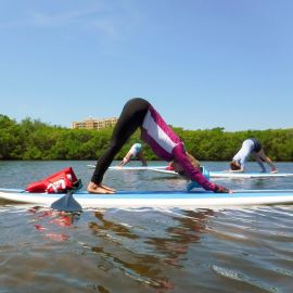 Paddle Board Yoga (8:00-9:00am)