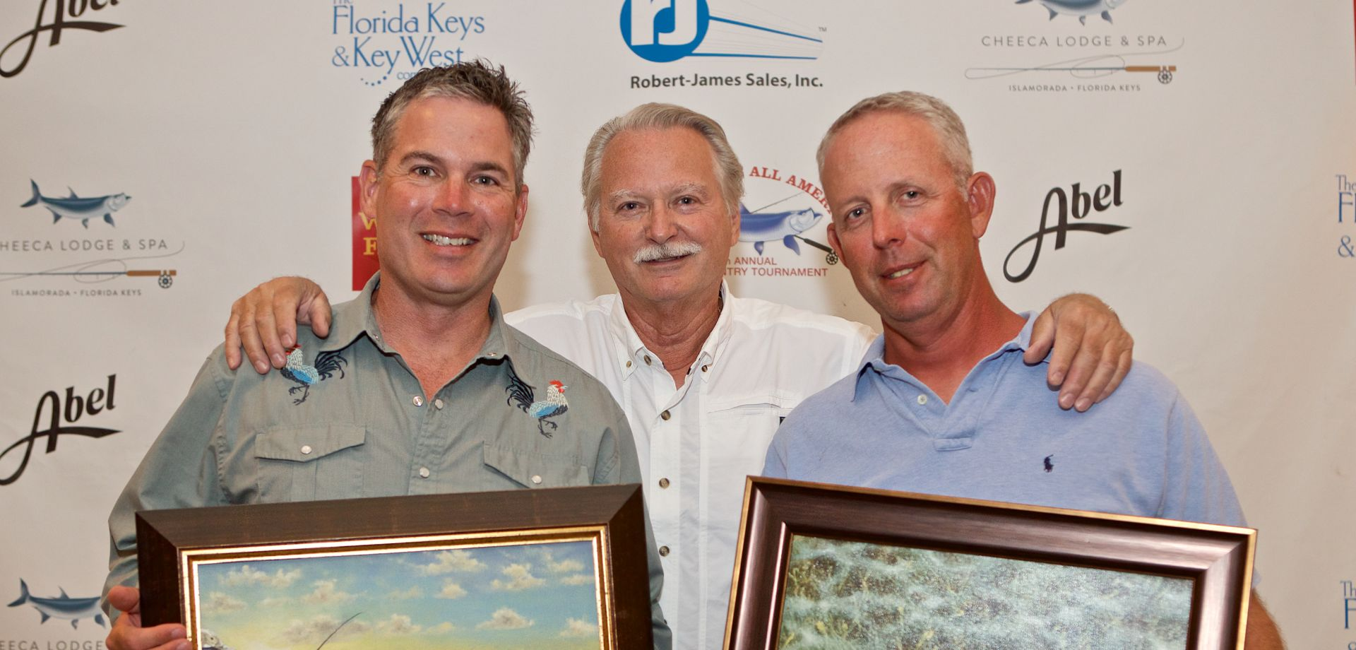 Individual Grand Champion Angler <em>Tom McGraw and Guide Mark Gilman</em>