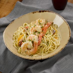 Shrimp Scampi Capellini
